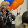 State superintendent Glenda Ritz at a public event at the headquarters of the Indianapolis Star in December.