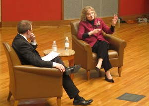 The position of state superintendent has been an elected one since its creation in 1851. Glenda Ritz is Indiana's 43rd schools' chief. (Photo Credit: StateImpact Indiana)