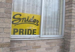 Fort Wayne decided to repair Snider High School instead of rebuild to keep construction costs down.