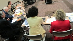 Superintendent of Public Instruction Glenda Ritz chairs the September 2013 meeting of the State Board of Education.