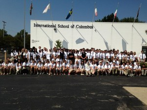 A photo from the beginning of this school year from the International School of Columbus' Facebook page.