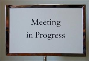 Meeting in Progress