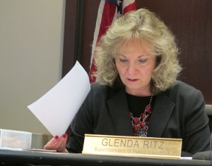 State superintendent Glenda Ritz currently serves as the chair of the State Board of Education, but if Senate Bill 1 goes forward that would no longer be the case.