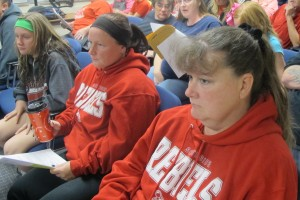 Supporters of Muncie Southside High School asked the Board of Trustees not to close the school. But district officials concluded the building could not be converted to house students in 7-12 grade.