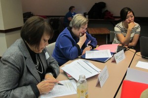 K-12 educators and subject matter experts review the state's academic standards.