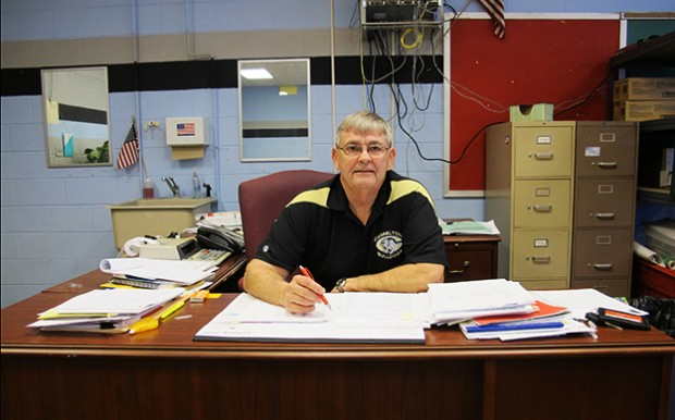 "Cannelton City Schools was in ""complte disarray"" when Al Sibbitt took over two years ago. The 72-year-old part-time superintendent has had to implement steep cuts to keep the district going, but revenues are still drying up."