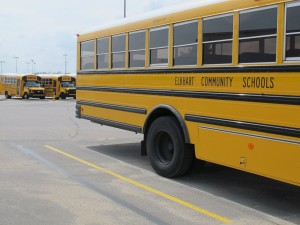 One of the referenda passed for Elkhart Community Schools will fund transportation costs to put more school buses on the road.