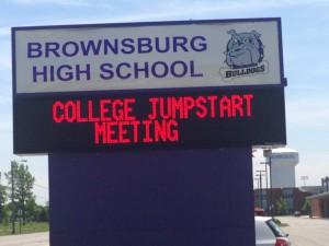 Brownsburg High School created a new counseling program a few years ago that allows counselors to focus on students.
