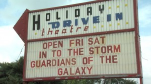 The Holiday Drive-In in Mitchell, Ind. started losing money from Sunday night movies when the school corporation switched to a balanced calendar.