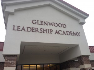Glenwood Leadership Academy in Evansville if one of the districts failing schools. After one year in the district's Turnaround Zone, GLA has reduced office referrals, increased IREAD scores and are getting more students closer to passing the ISTEP+. (Photo Credit: Claire McInerny/StateImpact Indiana)