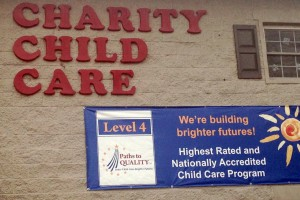 Charity Child Care, a provider in Indianapolis, is a Level 4 on the Paths To Quality system.