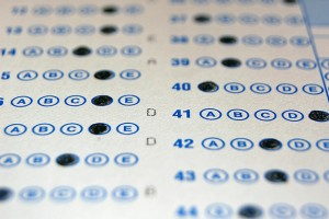 Michelle Walker, Director of Assessment at the IDOE, says taking the ISTEP+ using paper and pencil would be more costly for the state. (Photo Credit: David Hartman/Flickr)