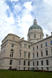 The Indiana Statehouse. (Photo Credit: Indiana Department of Administration)