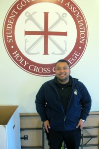 Juan Constantino is a junior at Holy Cross College. As an undocumented student, he didn't qualify for federal aid or many loans, and a scholarship offered by Holy Cross was the only way he can attend college.
