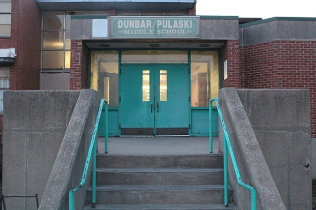 Dunbar-Pulaski Academic & Career Academy, Gary, Indiana (Photo Credit: Rachel Morello/StateImpact Indiana)