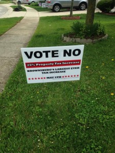 Voters rejected two proposed referenda in Brownsburg school district last week. (Photo Credit: Janelle Fasan/Twitter)