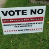 Voters rejected two proposed referenda in Brownsburg school district last May. (Photo Credit: Janelle Fasan/Twitter)