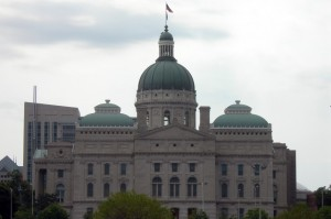 The Indiana Statehouse. (Photo Credit: Jimmy Emerson/Flickr)