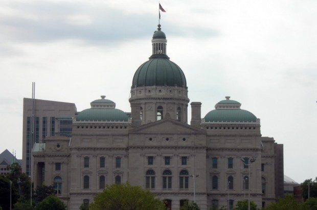 The Indiana Statehouse. (Jimmy Emerson/Flickr)