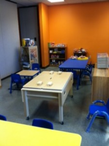 The classroom setup at Girls Inc. in Jackson County. (Photo Credit: Kathy Haper/Child Care Network)