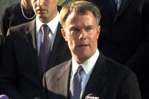 Joe Hogsett is the Democratic candidate for Indianapolis Mayor. (Photo Credit: Dan Goldblatt/WTIU News)