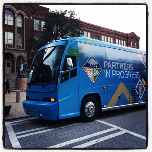 U.S. Secretary of Education Arne Duncan posted this picture of the USDOE's back-to-school tour bus last year, when he took over the official White House Instagram account. (Photo Credit: The White House/Instagram)