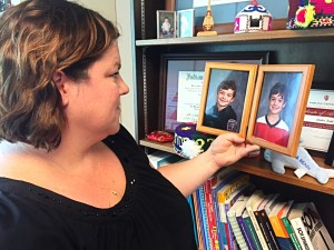 Amber Kent's twin sons are in third grade in the Monroe County Community School Corporation. Kent gets nervous every year for parent teacher conferences because of past experiences where she was surprised by what the teacher brought up.
