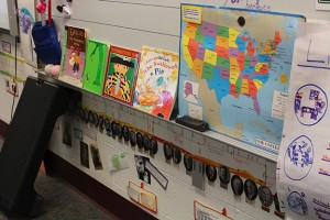 Sarah Laptiste's classroom at Clinton Young Elementary School. (Photo Credit: Rachel Morello/StateImpact Indiana)
