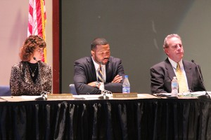 The State Board of Education passed 2015 A-F grades at its meeting Monday. (Photo Credit: Rachel Morello/StateImpact Indiana)