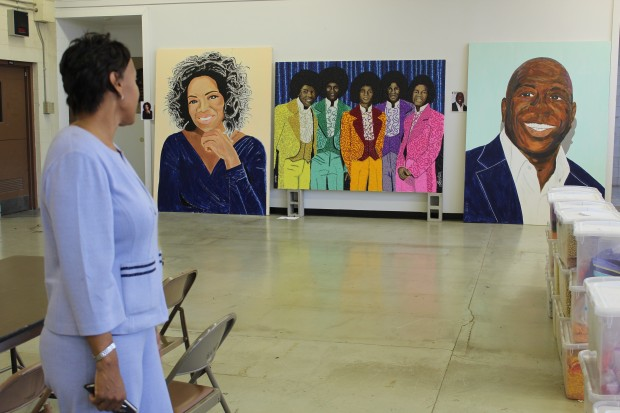 To many, Dr. Cheryl Pruitt stands out among other important Gary residents and benefactors, including Oprah, the Jackson 5 and Magic Johnson. (Photo Credit: Rachel Morello/StateImpact Indiana)
