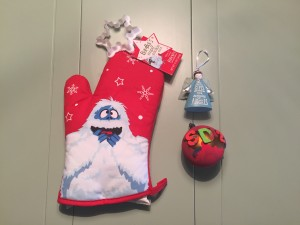 A few of the Christmas presents Sara Draper received from her second grade students this year.