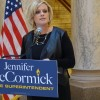 The Indiana Chamber of Commerce endorsed Jennifer McCormick Monday for state superintendent.