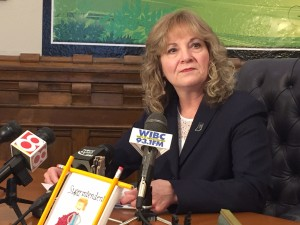 State superintendent Glenda Ritz updated her legislative agenda Tuesday for the 2016 General Assembly.