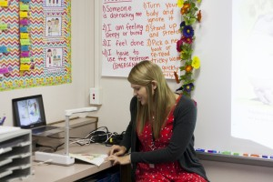Sara Draper is a second grade teacher at Helmsburg Elementary School in Brown County.