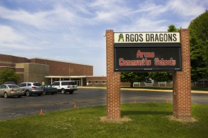 Like rural districts across Indiana, dropping enrollment in Argos Community Schools means less money for the district. As officials look toward the future, they're nervous about what comes next. (Peter Balonon-Rosen/Indiana Public Broadcasting)