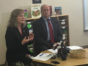 State superintendent Glenda Ritz and Democratic candidate for governor John Gregg want to create a universal pre-k program in the state.