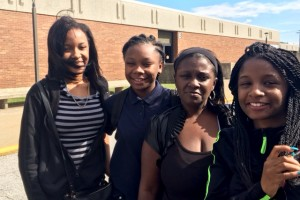 Latasha Marshall and her three daughters Deanna, Ashley and Janae are planning on moving from East Chicago after finding out their apartment is in the most lead-contaminated part of the city. The three girls will have to transfer schools mid school year.