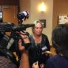 Jennifer McCormick speaks with the press on Nov. 8, 2016. (Eric Weddle/WFYI)