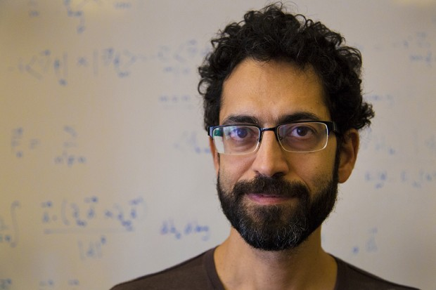 Babak Seradjeh is an associate professor of physics at Indiana University. (Peter Balonon-Rosen/IPB News)