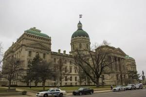 The Indiana Statehouse. (Peter Balonon-Rosen/Indiana Public Broadcasting)