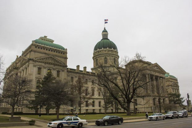 The Indiana Statehouse. (Peter Balonon-Rosen/Indiana Public Broadcasting)