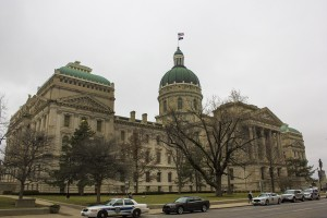 The Indiana Statehouse. (Peter Balonon-Rosen/IPB News)