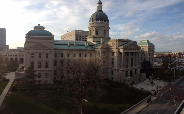 The Indiana Statehouse. (Brandon Smith/Indiana Public Broadcasting)