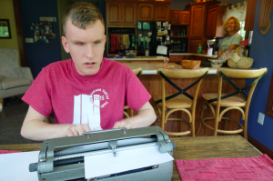 Mitchell Bridwell will compete in the national Braille Challenge, a contest focused on reading and writing Braille. The contest is an attempt to improve the unemployment rate among blind people, by encouraging Braille literacy.