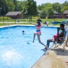 The Tataya Mato week at Indianapolis' Jameson Camp is a free sleepaway camp for children impacted by HIV/AIDS. (Peter Balonon-Rosen/Indiana Public Broadcasting)