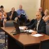 Jim McGoff, environmental programs director for the Indiana Finance Authority, testifies before the interim environmental affairs legislative committee. (Nick Janzen/IPB News)