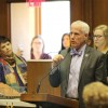 Rep. Bob Behning (R-Indianapolis) speaks in the Indiana House. (Lauren Chapman/IPB News)
