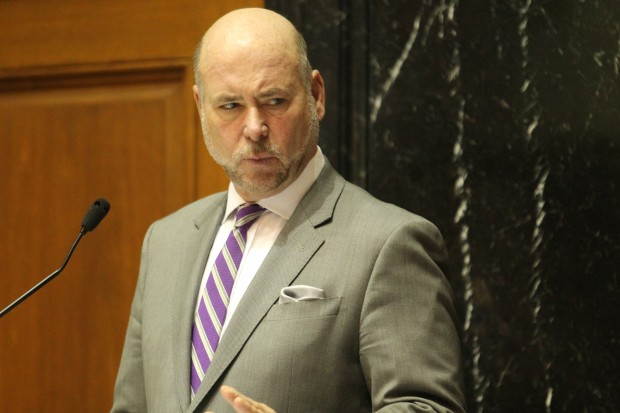 Indiana House Speaker Brain Bosma (R-Indianapolis). (Lauren Chapman/IPB News)