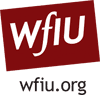 WFIU black website logo