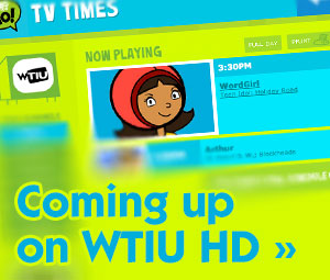 Coming up on WTIU HD